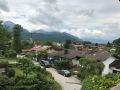 Ausblick vom Balkon und Wohnbereich